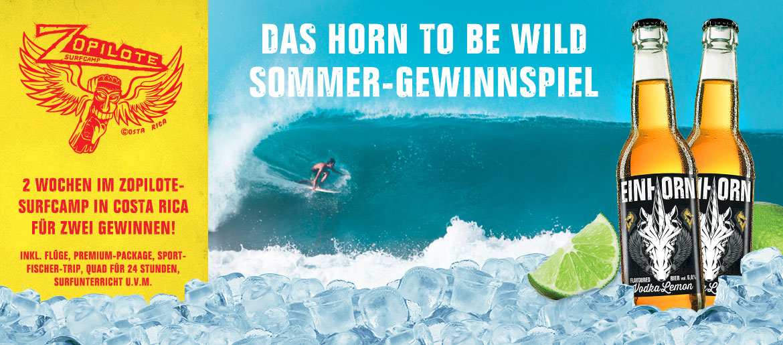 Einhorn Surfcamp Gewinnspiel